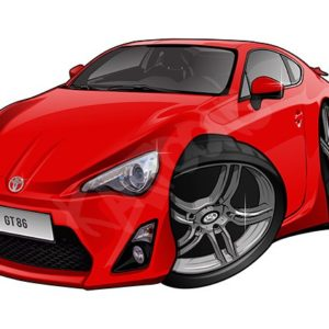Toyota GT86 Red