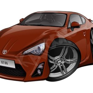 Toyota GT86 Brown