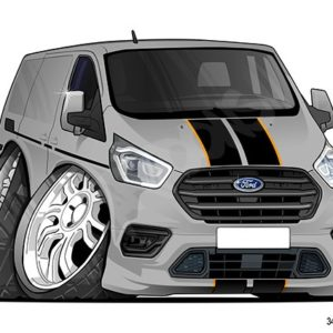 Ford Transit Custom - Silver/Grey