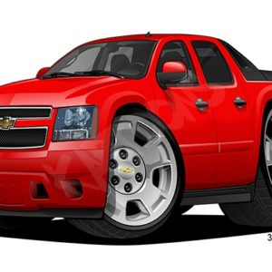 Chevrolet Avalanche LS 1 Red