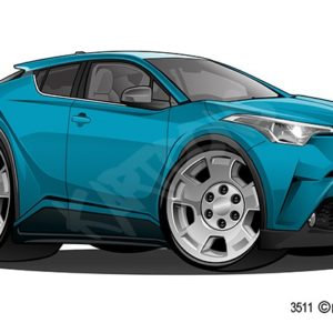 Toyota CH-L Turquoise