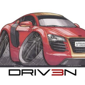 Driven Audi R8 Red