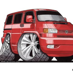 Volkswagen VW Transporter T4 Red