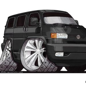 Volkswagen VW Transporter T4 Black
