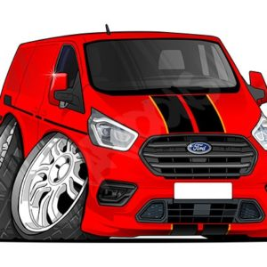Ford Transit Custom - Red