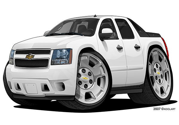 Chevrolet Avalanche LS 1 White