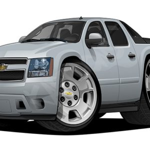 Chevrolet Avalanche LS 1 Silver