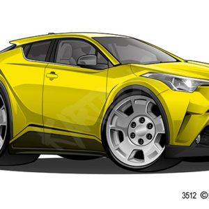 Toyota CH-L Yellow
