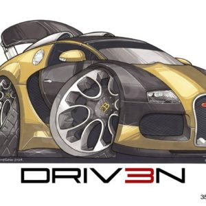 Driven Bugatti Veyron Gold