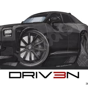 Driven Rolls Royce Ghost Black